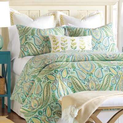Barrymore Comforter Size: King, Finish Type: Hand-Tacked