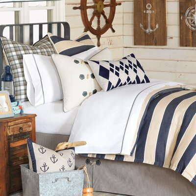 Ryder Abbot Comforter Size: Twin, Finish Type: Hand-Tacked