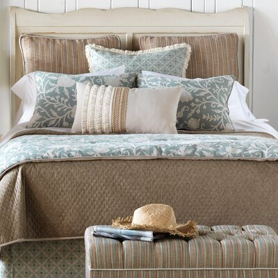 Avila Bowen Standard Coverlet Size: California King