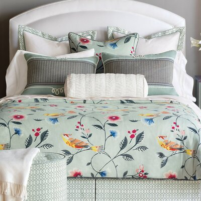 Gwyneth Comforter Size: Super Queen, Finish Type: Hand-Tacked
