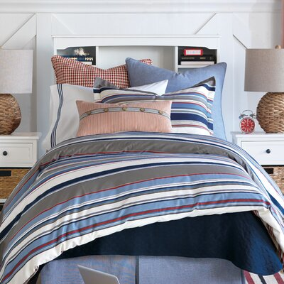Epic Harbor Comforter Size: King, Finish Type: Hand-Tacked