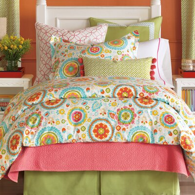 Epic Splash Comforter Size: Super Queen, Finish Type: Hand-Tacked