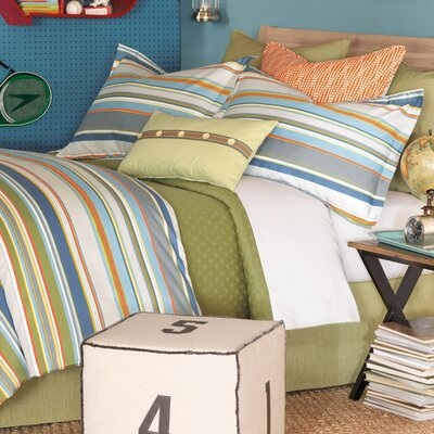 Epic Shore Hand Tacked Comforter Size: Queen