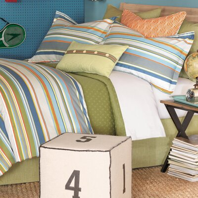 Quinlan Shore Duvet Cover and Comforter Size: King