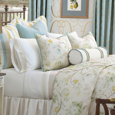 Magnolia Duvet Cover Size: Super King