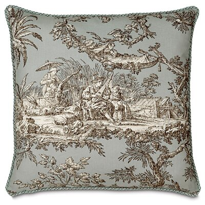 Vera Toile Throw Pillow