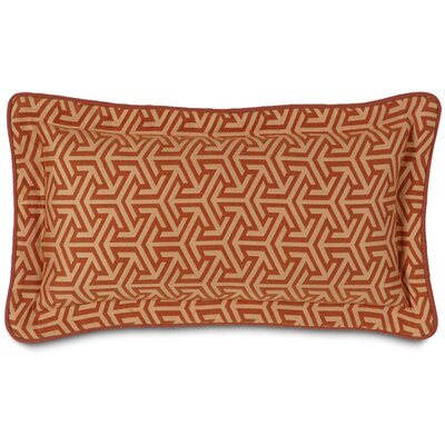 Mondrian Lumbar Pillow Color: Canyon