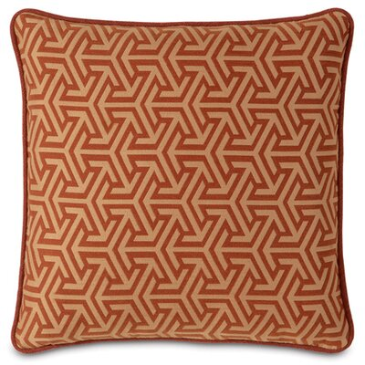 Mondrian Throw Pillow Color: Canyon