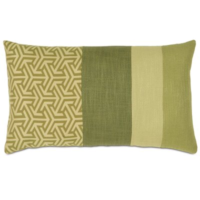 Mondrian Throw Pillow Color: Green Leaf