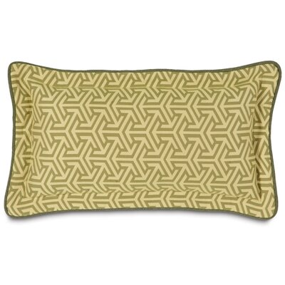 Mondrian Lumbar Pillow Color: Green Leaf