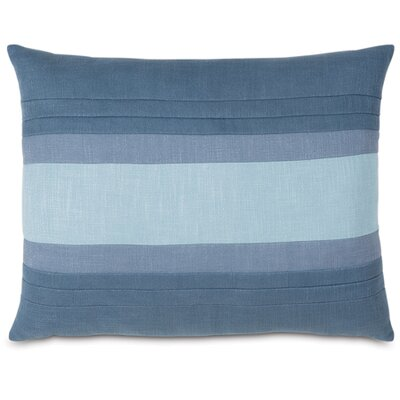 Mondrian Haberdash Lumbar Pillow Size: Standard, Color: Blue Water