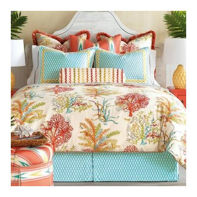 Maldive Comforter Size: Full, Finish Type: Hand-Tacked