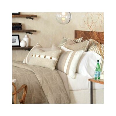 Silas Comforter Size: King, Finish Type: Button-Tufted