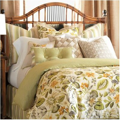 Stelling Palm Comforter Size: California King, Finish Type: Button-Tufted