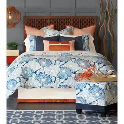 Indira Ink Comforter Size: Super Queen, Finish Type: Hand-Tacked