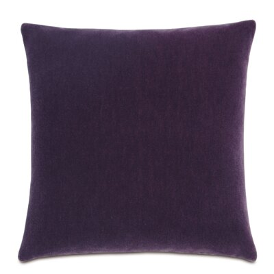 Bach Fabric Throw Pillow Color: Boysenberry