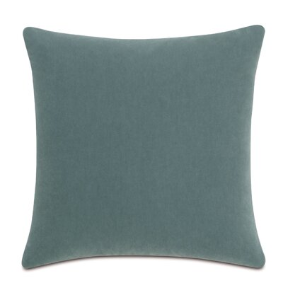 Bach Wool Throw Pillow Color: Seafoam