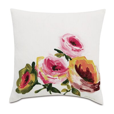 Tresco Hand-Painted Throw Pillow