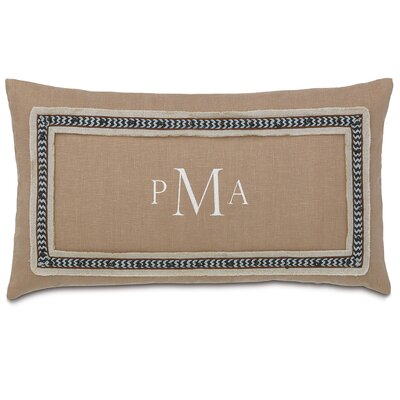 Naya Breeze Sand Linen Throw Pillow