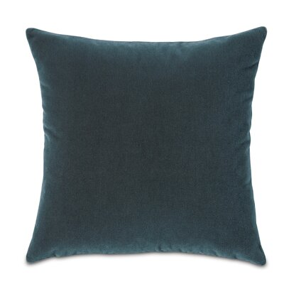 Bach Wool Throw Pillow Color: Ombre Blue