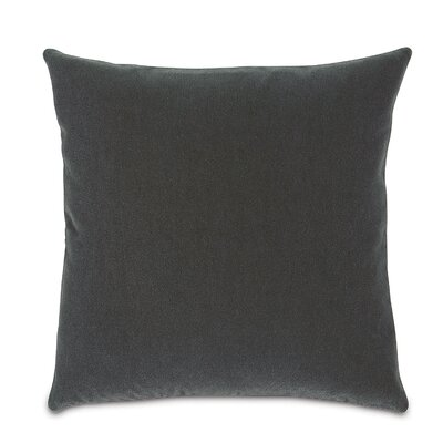 Bach Fabric Throw Pillow Color: Persian Gray