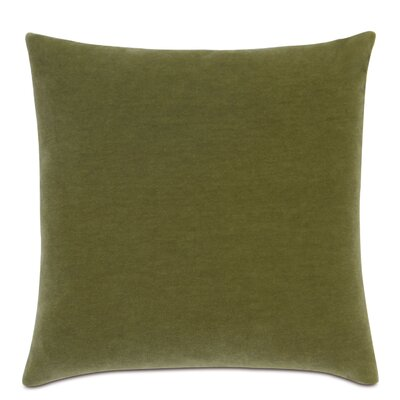 Bach Fabric Throw Pillow Color: Apple - Green