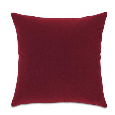 Bach Fabric Throw Pillow Color: Rubiat