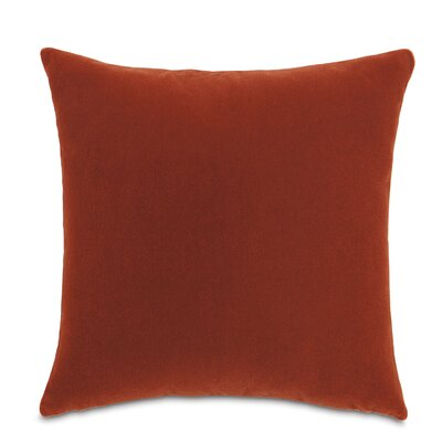Bach Fabric Throw Pillow Color: Claypot
