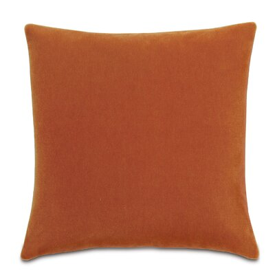 Bach Fabric Throw Pillow Color: Persimmon