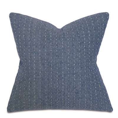 Alden Baste Denim Fabric Throw Pillow