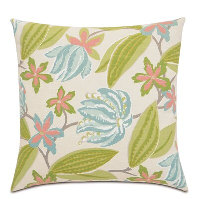 Lavinia Paradise Cotton Throw Pillow