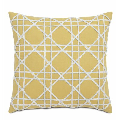 Lavinia Linen Throw Pillow Color: Mistral Sunshine