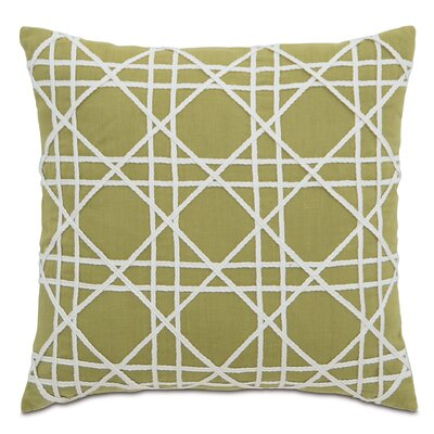 Lavinia Linen Throw Pillow Color: Palm