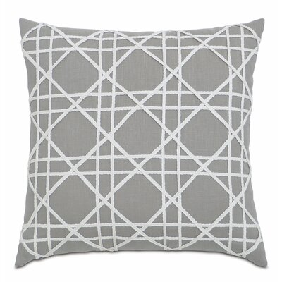 Lavinia Linen Throw Pillow Color: Stone