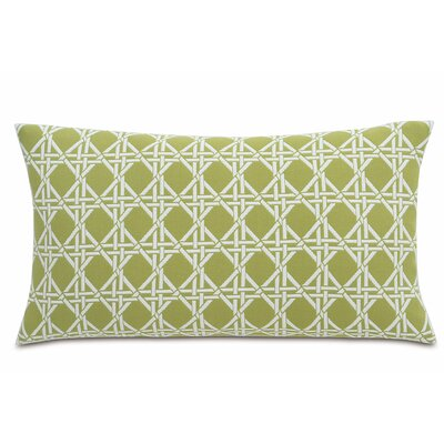 Lavinia Larkin Cotton Throw Pillow Color: Palm