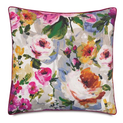 Tresco Bloom Fabric Throw Pillow