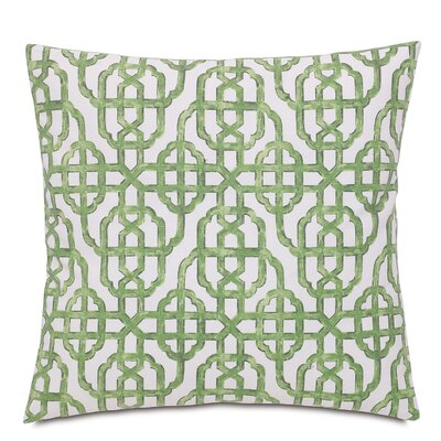 Tresco Levens Trellis Cotton Throw Pillow