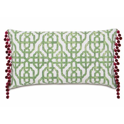 Tresco Levens Trellis Cotton Lumbar Pillow