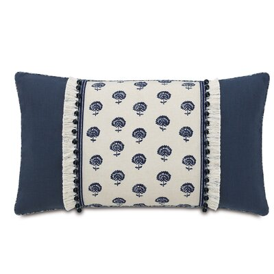 Magnolia Fabric Bolster Pillow