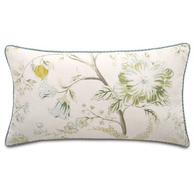 Magnolia Cotton Lumbar Pillow