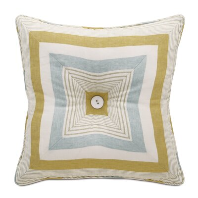 Magnolia Truvy Pond Tufted Linen Throw Pillow