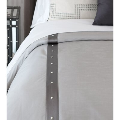 Hendrix Edris Fog Duvet Cover Size: Super King