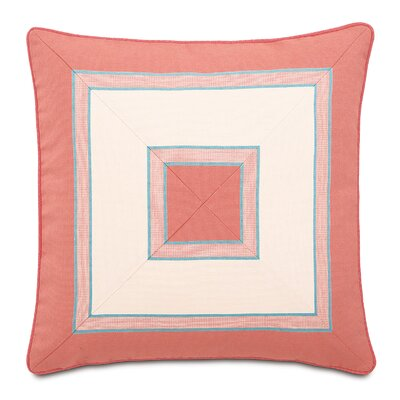 Sumba Tosi Blush Mitered Throw Pillow