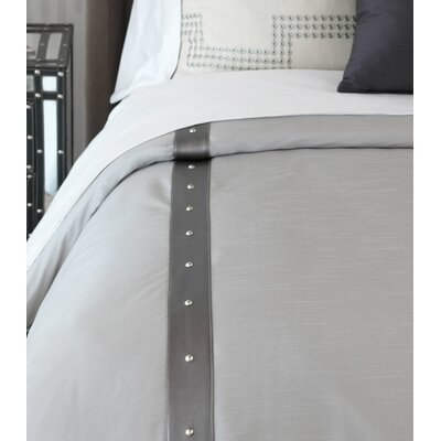Hendrix Edris Fog Comforter Size: Super King, Finish Type: Button-Tufted