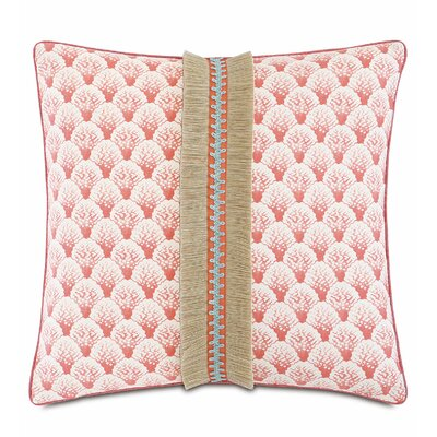 Sumba Koopa Coral Throw Pillow