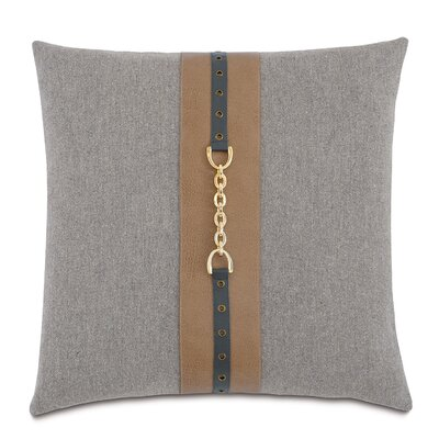 Arthur Brigid Stone Cotton Throw Pillow