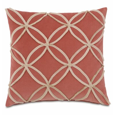 Rena Lenneka Rose Cotton Throw Pillow