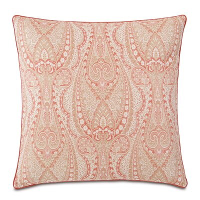 Rena Carnation Cotton Throw Pillow