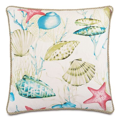 Sumba Seaside Cotton Throw Pillow