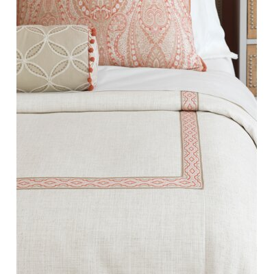 Rena Ledger Duvet Cover Size: Super King